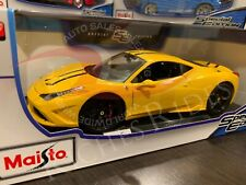 Maisto 1:18 Scale Special Edition Diecast Model - Ferrari 458 Speciale (Yellow)
