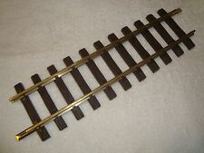 LGB 10000 BRASS 1 FOOT STRAIGHT TRACK SECTION 1 PIECE BRAND NEW!