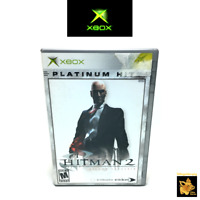 Hitman 2 Silent Assassin (2003) Microsoft Xbox Game Case Manual Tested & Works