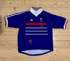 France 1998 2000 Adidas Home Shirt 'Pour toi Zinedine Zidane' Vintage Rare Large