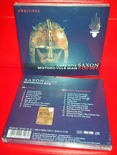 CD SAXON - MOTORCYCLE MAN - ALL LIVE - SEALED SIGILLATO