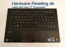 Sony Vaio VPCS Palmest Touchpad Tastatur DE Kartenleser 3,5mm Buchse 148949751