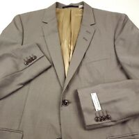 Tiger of Sweden Wool Suit Separate Jacket Mens Size US 40R Taupe