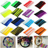 72pc Wheel Spoke Wrap Kit Rim Skin Cover Guard Protector Pit Dirt Bike  #