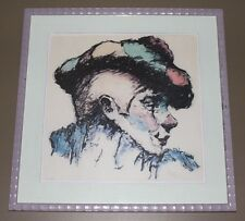 """Philippe Alfieri's """"Maurice""""  Original Lithograph, Pencil Signed by Artist"""