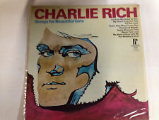 Charlie Rich Songs For Beautiful Girls EXc Hiltop Label 12`` LP Record