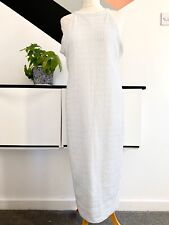 RIVER ISLAND Dress Size 16 WHITE SILVER | SMART Occasion WEDDING Cruise RACES