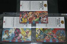 1994 Fleer Ultra X-Men 3-Card Promo Set (EXCALIBUR, X-FACTOR, WEDDING) NM/M