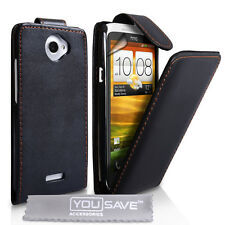 Accessories For The HTC One X PU Leather Case Cover Skin & Screen Protector UK