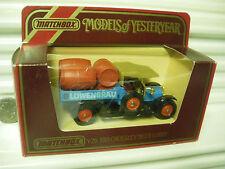 MATCHBOX MODELS OF YESTERYEAR Y26 LOWENBRAU LT RED BARRELS 1918 CROSSLEY NU BXD*
