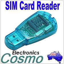 SIM Card Reader Writer Copy Cloner Backup GSM CDMA F Windows XP Vista Win7