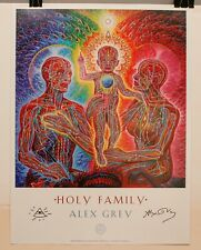 """HOLY FAMILY by ALEX GREY (Poster Print, SIGNED, 2010, 18"""" x 24"""")"""