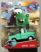 2020 Disney Pixar CARS Tow Mater Radiator Springs 2 in 1 COLOR CHANGERS