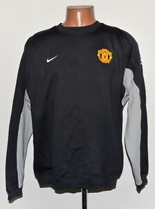 MANCHESTER UNITED 2004/2005 FOOTBALL TRAINING TOP JERSEY NIKE SIZE L ADULT