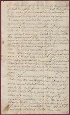 New Hampshire Manuscript Will, Norris Cotton, Northampton, Jan. 13, 1804