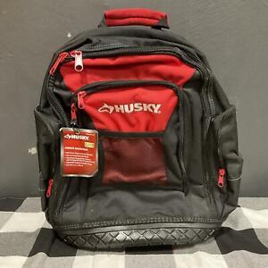 Husky Pro Tool Jobsite Backpack 600 Denier Water-Resistant 1002-975-153