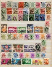 HONG KONG-Accumulation of 118 stamps