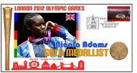 NICOLA ADAMS 2012 OLYMPIC BRITISH BOXING GOLD MEDAL COV