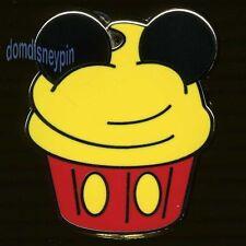 Disney Pin Character *Cupcake* Set - Mickey Mouse Cake!