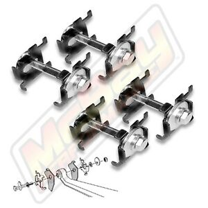 Front Alignment Camber Caster Correction Kit 2002-2005 Ram 1500 4X4 2WD 44-792