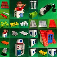Lego Duplo 5795 Krankemhaus Ersatzteile Platten Figuren Zubehör #D1
