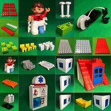Lego Duplo 5795 Krankemhaus Ersatzteile Platten Figuren Zubehör #D20