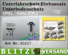 Unterfahrschutz Einbausatz Unterbodenschutz Kit  OPEL ASTRA J Caravan    90201