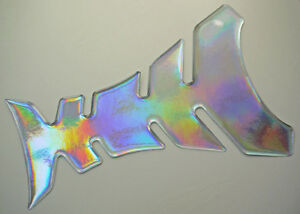 195mm x 135mm Holographic 3D Domed Gel Tank Pad