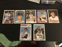 1969 Nolan Ryan Plus 6 Other Cards 1 With Auto