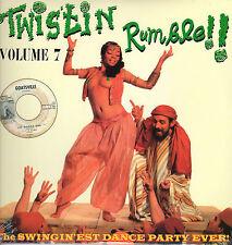 TWISTIN RUMBLE THE SWINGIN'EST DANCE PARTY EVER VOLUME 7 VINYLE LP NEUF NEW