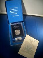"""1885-CC """"Dash Under 8 VAM-2"""" GSA """" NGC MS64 Silver MORGAN Dollar $1 * BOX & COA"""