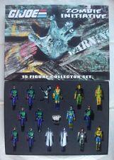ZOMBIE INITIATIVE ECO FORCE GI Joe 2014 Convention Boxed Set Hasbro Cobra figure