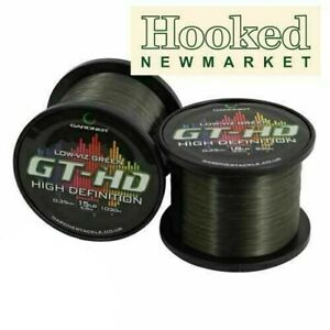 Gardner GT-HD Low Vis Green Mainline *All Breaking Strains* * FREE 24 HOUR P&P *