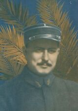 K1001 René Pierre Marie Dorme - Portrait - Stampa d'epoca - 1916 Old print