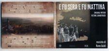 Cd E FU SERA E FU MATTINA di REMO BALDI Colonna sonora Film OST 2014