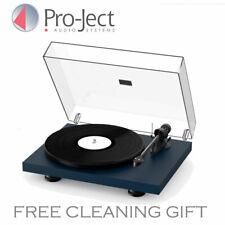 Pro-ject Debut Carbon EVO Premium Turntable Ortofon 2m Cartridge Satin Blue