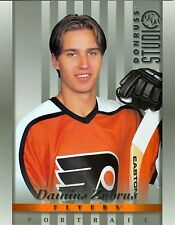Dainius Zubrus 1997-98 Donruss Studio Portrait Philadelphia Flyers #27 NM 8x10