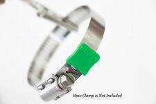 Clamp-aid hose clamp end guards 20 Pack Color: Green