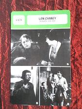 LON CHANEY - MOVIE STAR - FILM TRADE CARD - FRENCH - #1