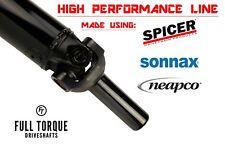 Custom High-Performance Driveshaft 1350 Series u-joints with Chromoly Slip Yoke