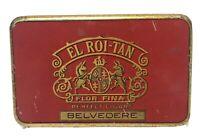Vintage El Roi-Tan Flor Fina Perfect Cigars Tobacco TinPocket Pack Empty