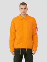 Alpha Industries Lightweight Coaches Jacket Emergency Orange Men MJL49000C1-819