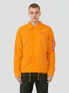 Alpha Industries Lightweight Coaches Jacket Emergency Orange Men MJL49000C1-819