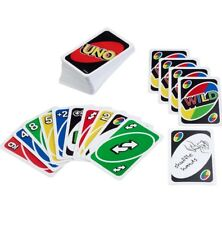 UNO Card Game Games Great Adult Mattel Classic Family Travel Playing Cards Party
