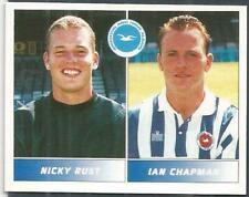 PANINI FOOTBALL LEAGUE 95 -#405-BRIGHTON & HOVE ALBION-NICKY RUST / IAN CHAPMAN