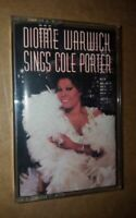 Sings Cole Porter by Dionne Warwick (Cassette, Jun-1990, Arista)