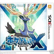 Y1902 Nintendo 3ds Pokemon x Pocket Monsters Japan NDS
