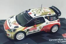 Die-cast 1:43 Auto Citroen DS3 WRC Rally MonteCarlo 2013 S.Loeb - D.Elena