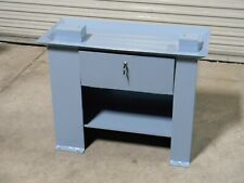 "Heavy Duty Steel Cabinet Stand for 9"" x 20"" Bench Lathe 36"" W x 17"" D x 28"" H"
