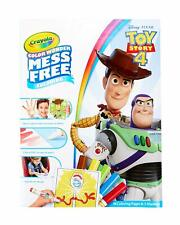 Crayola Toy Story 4 Color Wonder Mess Free Magic Colouring Set inc Pens